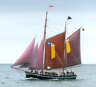 Germania, Volker Gries, Hanse Sail Rostock 2000 , 08/2000