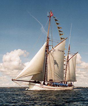 Jens Krogh, Werner Jurkowski, Sail Esbjerg / Cutty Sark 2001 , 08/2001