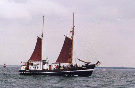 Sirius, Volker Gries, Hanse Sail Rostock 1999 , 08/1999