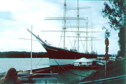 Pommern, Volker Dezelske, Mariehamn , Sommer 1994