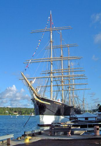 Pommern, Dieter Meyer, Sail Mariehamn 2003 , 2003