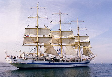 Mir, Volker Gries, Hanse Sail Rostock 1999 , 08/1999