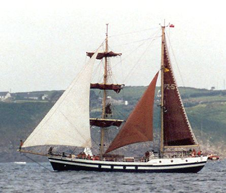 Kapitan Glowacki, Volker Gries, Sail Brest / Cutty Sark 2002 , 07/2002