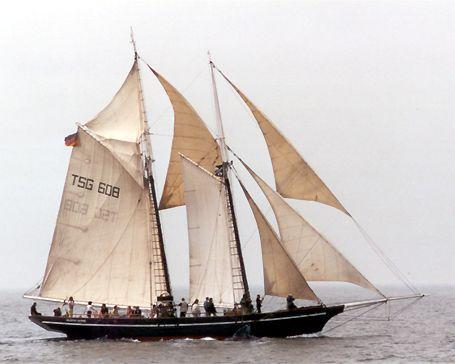 Vanadis, Volker Gries, Hanse Sail Rostock 2002 , 08/2002