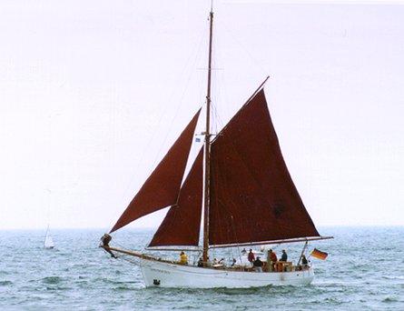 Søstjernen, Volker Gries, Hanse Sail Rostock 1998 , 08/1999