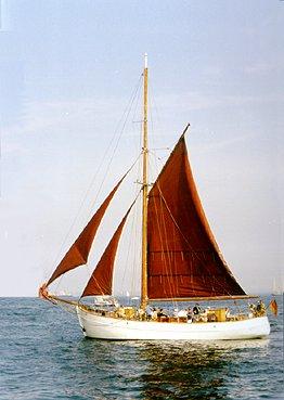 Søstjernen, Volker Gries, Hanse Sail Rostock 1999 , 08/1999