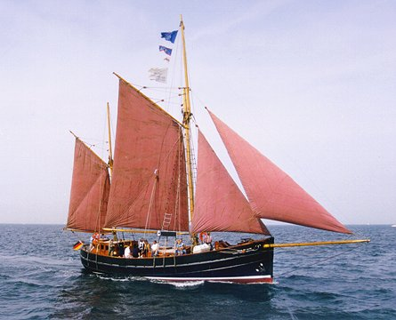 Star of Hope, Volker Gries, Hanse Sail Rostock 1999 , 08/1999