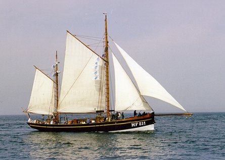 Landrath Küster HF 231, Volker Gries, Hanse Sail Rostock 1999 , 08/1999
