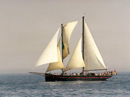 Ethel von Brixham, Volker Gries, Hanse Sail Rostock 1999 , 08/1999