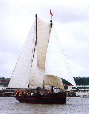 Ethel von Brixham, Volker Gries, Sail Flensburg 2000 / Cutty Sark 2000 , 08/2000