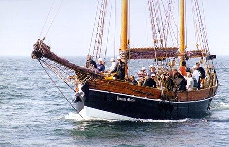 Hanne-Marie, Volker Gries, Hanse Sail Rostock 1999 , 08/1999