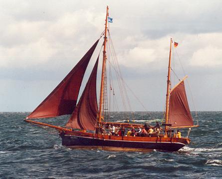 Hanne-Marie, Volker Gries, Hanse Sail Rostock 2001 , 08/2001