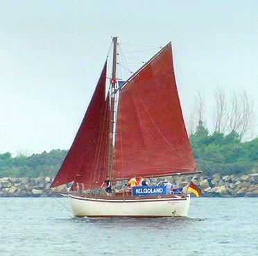 Helgoland, Volker Gries, Hanse Sail Rostock 1999 , 08/1999