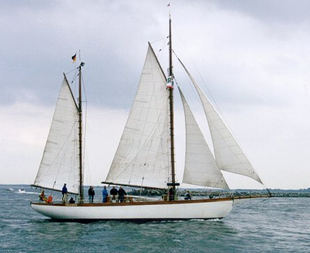 Ingorata, Volker Gries, Hanse Sail Rostock 1999 , 08/1999