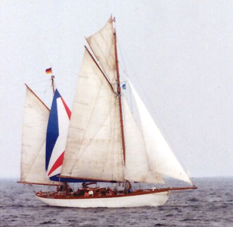 Ingorata, Volker Gries, Hanse Sail Rostock 2002 , 08/2002
