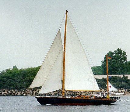 Pantagruel, Volker Gries, Hanse Sail Rostock 1999 , 08/1999