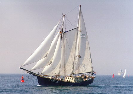 Twister, Volker Gries, Hanse Sail Rostock 1999 , 08/1999
