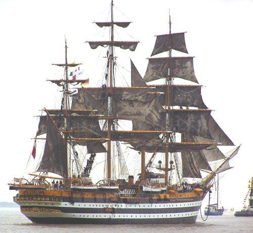 Amerigo Vespucci, Thomas Albert, Sail Bremerhaven 2005 , 08/2005