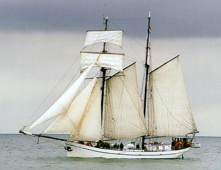 Bisschop van Arkel, Volker Gries, Hanse Sail Rostock 2000 , 08/2000