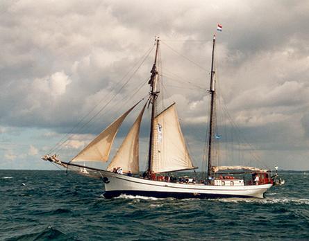 Bisschop van Arkel, Volker Gries, Hanse Sail Rostock 2001 , 08/2001