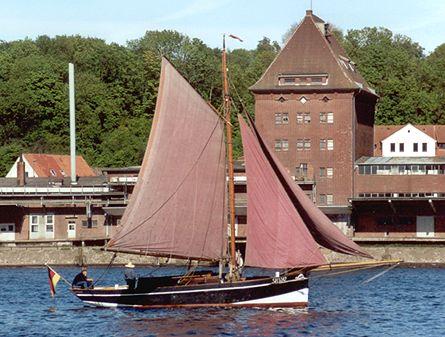 Fahrewohl von Büsum S.H.5342, Volker Gries, Rum-Regatta 2001 , 05/2001