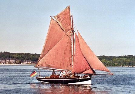 Fahrewohl von Büsum S.H.5342, Volker Gries, Rum-Regatta 2003 , 05/2003