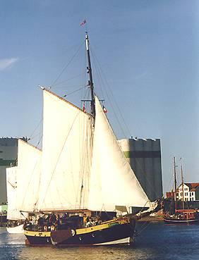 Flinthörn, Volker Gries, Rum-Regatta 2000 , 06/2000