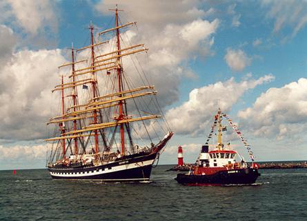 Kruzenshtern, Volker Gries, Hanse Sail Rostock 2001 , 08/2001