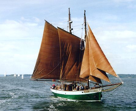 Jachara, Volker Gries, Sail Flensburg 2000 / Cutty Sark 2000 , 08/2000