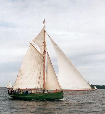 Nordlys, Volker Gries, Rum-Regatta 2001 , 05/2001