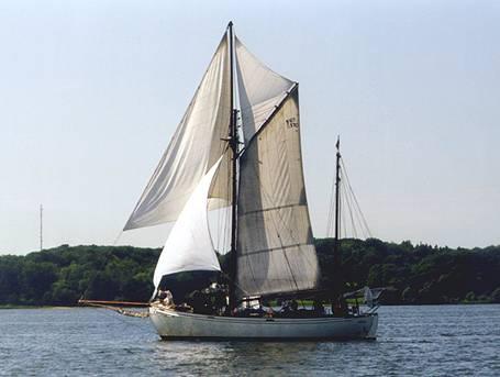 Wyvern af Aalesund, Volker Gries, Rum-Regatta 2000 , 06/2000
