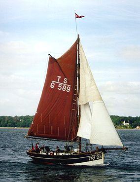 Grete Fri28, Volker Gries, Sail Flensburg 2000 / Cutty Sark 2000 , 08/2000