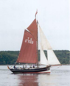 Grete Fri28, Volker Gries, Rum-Regatta 2001 , 05/2001