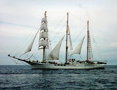Signora del Vento, Volker Gries, Hanse Sail 1996 / Cutty Sark 1996 , 08/1996