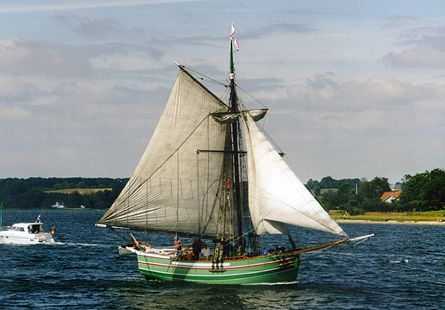 De To Søstre, Volker Gries, Sail Flensburg 2000 / Cutty Sark 2000 , 08/2000