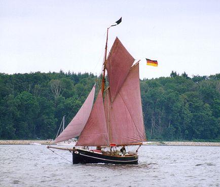 Aurora von Altona, Volker Gries, Sail Flensburg 2000 / Cutty Sark 2000 , 08/2000