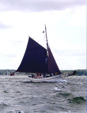 Bolette, Volker Gries, Sail Flensburg 2000 / Cutty Sark 2000 , 08/2000