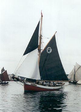 Dagmar Aaen, Volker Gries, Rum-Regatta 2001 , 05/2001