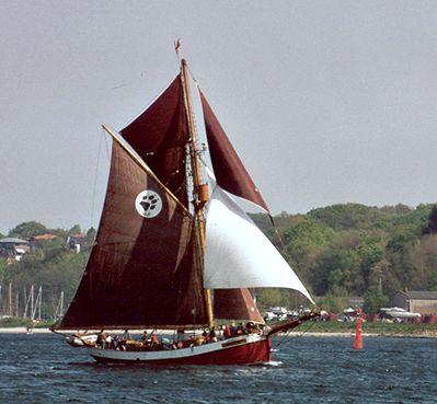 Dagmar Aaen, Volker Gries, Rum-Regatta 2002 , 05/2002