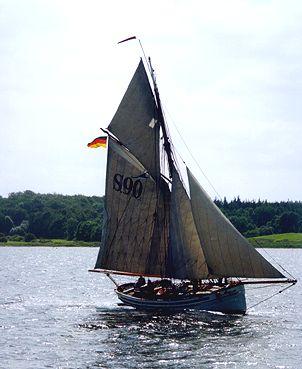 Frieda von Hadersleben, Volker Gries, Sail Flensburg 2000 / Cutty Sark 2000 , 08/2000
