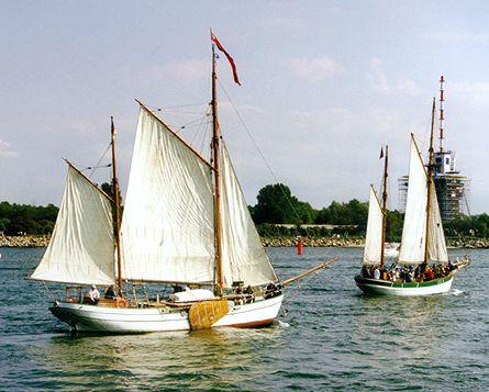 Berta, Volker Gries, Hanse Sail 1996 / Cutty Sark 1996 , 08/2000