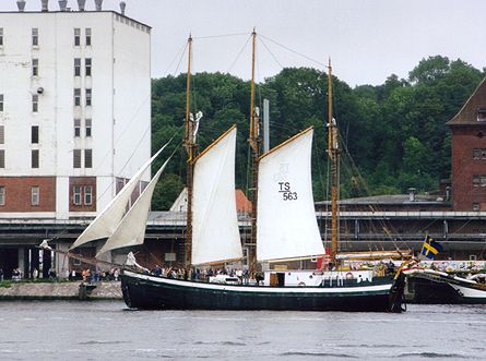 Vänervik, Volker Gries, Sail Flensburg 2000 / Cutty Sark 2000 , 08/2000