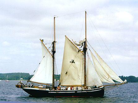 Hawila, Volker Gries, Sail Flensburg 2000 / Cutty Sark 2000 , 08/2000