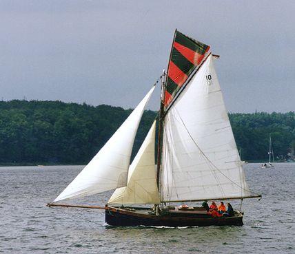 Mildred, Volker Gries, Sail Flensburg 2000 / Cutty Sark 2000 , 08/2000