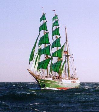 Alexander von Humboldt, Volker Gries, Hanse Sail 1996 / Cutty Sark 1996 , 08/1996