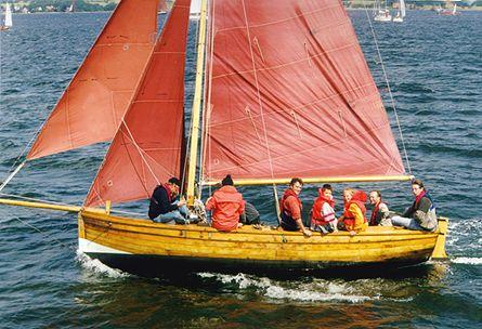 Minna Roeder, Volker Gries, Sail Flensburg 2000 / Cutty Sark 2000 , 08/2000