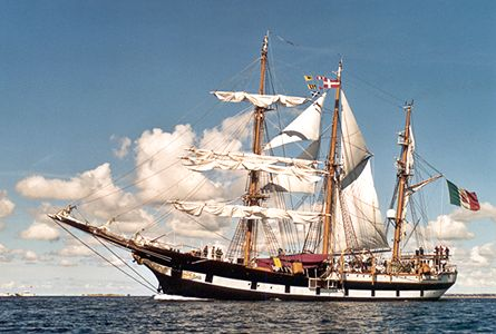 Palinuro, Werner Jurkowski, Sail Esbjerg / Cutty Sark 2001 , 08/2001