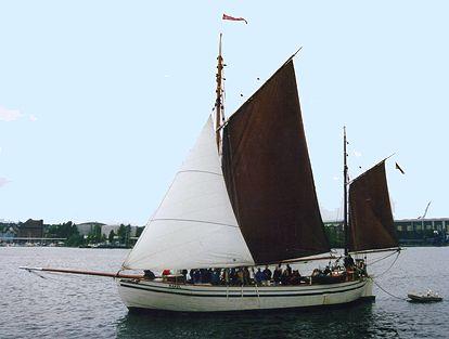 Rakel, Volker Gries, Sail Flensburg 2000 / Cutty Sark 2000 , 08/2000