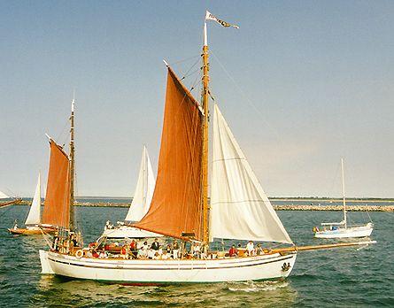 Rakel, Volker Gries, Hanse Sail Rostock 2000 , 08/2000