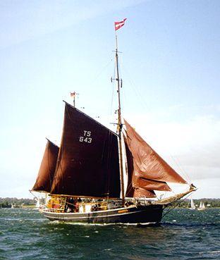Seute Deern II, Volker Gries, Sail Flensburg 2000 / Cutty Sark 2000 , 08/2000